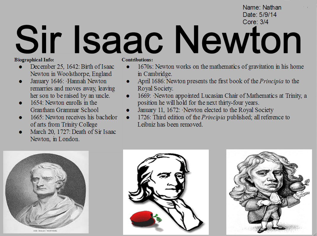 an overview of the success of isaac newton an english scientist
